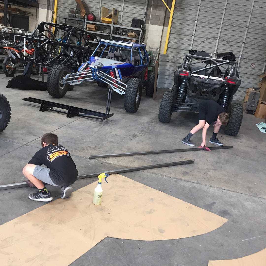 Building a cool good ramp with @morganmotorsports_lhc and @0_when...